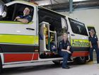 THE NEXT GENERATION: New graduate paramedics Samual Clough, Rebecca Harvey and Aimie Hendersen are super eager to make a difference within the community as they commence their 1 year placement at Bundaberg's QAS. Photo: Selina Ferrais / NewsMail