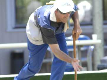 Mixed Pairs competition at the South Lismore bowling club.