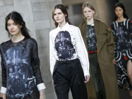 Darth Vadar Was the star of Preen's Fall/Winter 2014 collection.