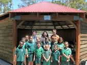 CLINTON State School's Yarning Circle, which aims to educate students about Gladstone's rich Aboriginal and Torres Strait Islander cultures, is 50% complete.
