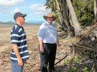 Residents told to pay up for beach repairs at Midge Point