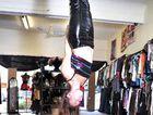 Pole dancing instructor Rebecca Wells.