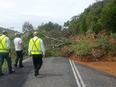 <strong> 3.15pm: </strong> THE Bulletin photographer Allan Reinikka has been out and about today along the Capricorn Coast capturing damage from rain deluge.