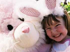 Easter Bunny Visits Mackay CBD