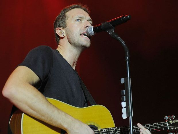 Coldplay frontman Chris Martin.