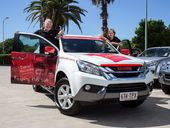 SPREADING the child safety message is easier thanks to Isuzu. Isuzu Ute has handed the keys to a new MU-X to child safety educators Bruce and Denise Morcombe
