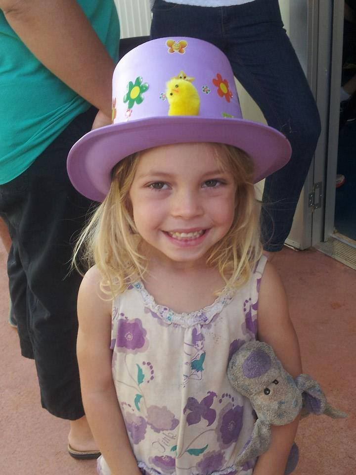 Missing Childers girl Chloe Campbell.