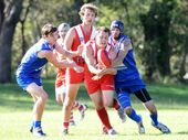 ONE win down and Coffs Swans hope there's more to come, starting with a difficult road trip to Grafton today.