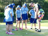 GOLF can be fun for kids and a sport for life – just ask Neville Austin.