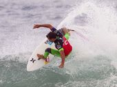SURFING: The Sunshine Coast's Julian Wilson is primed to go deep into the rounds of the Rip Curl Pro at Bells Beach after his convincing round one victory.