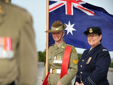 2014 Anzac Day Celebration courtesy of the Australian Defence Force