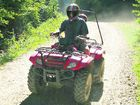 Search for safer riding on quad bikes