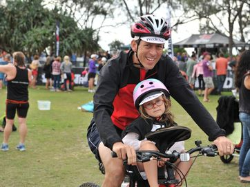 Images from the Byron Bay Triathlon.