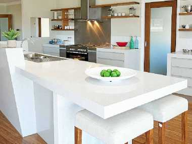 HOME MAKEOVER: Granite Transformations can modernise any living area.