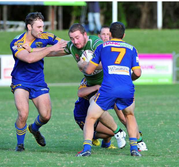 Rugby League./ Noosa / Gympie Vs Maroochydore./ Pirate
