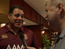 Exclusive interview with Mal Meninga