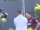 Behind the scenes at Maroons State of Origin launch