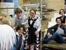 Actors turn tradies for upcoming production
