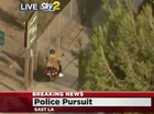 Video: LA police nab suspect after lengthy and bizarre chase