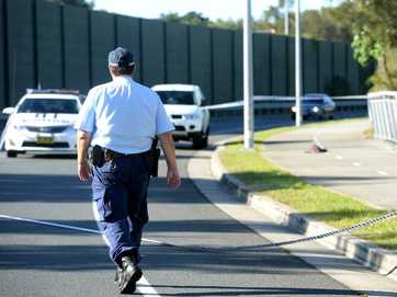 Scenes from Tweed Heads West as police investigate shooting of man in the buttocks on Monday, June 2, 2014.