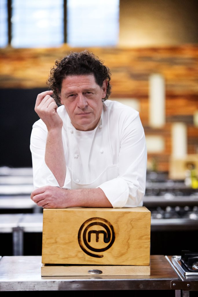 Marco brings some white heat to the masterchef kitchen for Marco pirotta chef