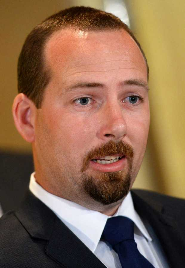 ALL QUIET: Australian Motoring Enthusiast Party senator Ricky Muir struggled to answer Mike Willesee's questions.