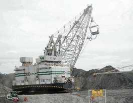 Mining slump behind Curragh cuts