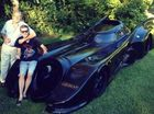 Superhero enthusiast builds his own Batmobile