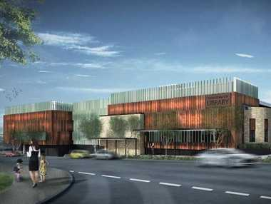 Plans for new Toowoomba City Library. Photo Contributed