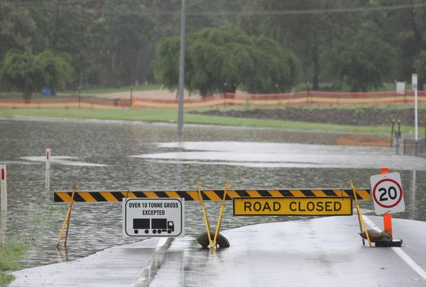 Update on road closures across Rockhampton and Central Qld ...