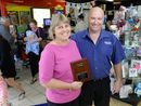A HUSBAND and wife team claimed the top gong for newsagents across south-east Queensland after a year of doing their business proud.