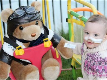 Taleah Scott owes her life to the RACQ Careflight Rescue helicopter service.