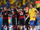 Brazil devastated by German's 7-1 victory in World Cup.