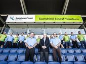 THE Sunshine Coast council has taken the naming rights of the region's major stadium from the region's biggest developer.