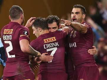 Queensland trounced New South Wales in State of Origin III.