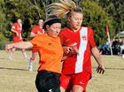 COMPETITION leaders Bangalow scored two wins in a double-header against arch rivals Alstonville in Far North Coast Ladies Premier Division soccer.