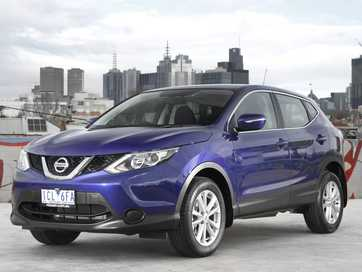 The new Nissan Qashqai.