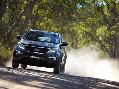 The Kia Sportage Si Premium.