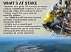 150 Bechtel staff set to strike at Curtis Island