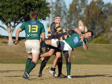 Rugby Union: University V Caloundra.