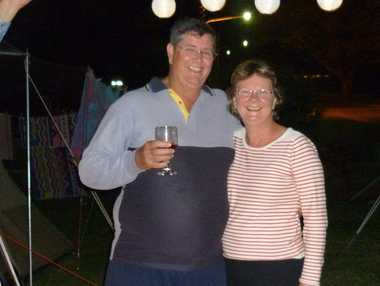 TRIBUTE: Wayne and Theresa Baker on a camping trip to Lucinda. Photo: contributed