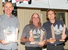 LISMORE driver Mick Santin swept the major awards at the Northern Rivers Wingless Sprint 2014 Presentations on Saturday night.