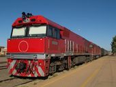 I HAVE just done the Ghan train thing.