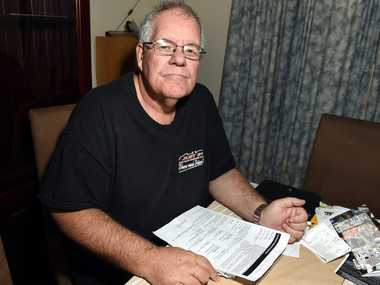 Kevin Crawley wants to work but can not get off the Disability Pension. Photo Vicki Wood / Caboolture News
