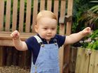 IT wasn't the greatest of starts for young Prince George.