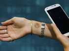A TEMPORARY 'digital tattoo' that lets wearers unlock their smartphones without having to punch in a code has gone on sale for $10 in the US.