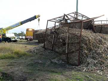 A cane train has derailed in Bundaberg on Friday afternoon.