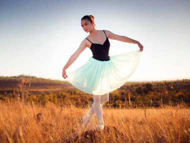 NATURAL: Miri has been studying ballet since the age of seven.