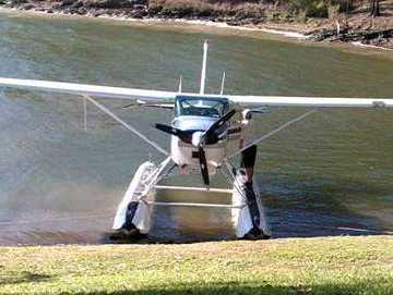 A pilot has been caught urinating in Awoonga Dam, which supplies water to Gladstone.