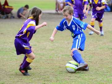A selection of photos taken at the junior soccer carnival held at Martens Oval on 26 July 2014.